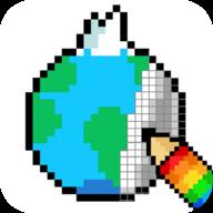 像素藝術世界旅行圖標