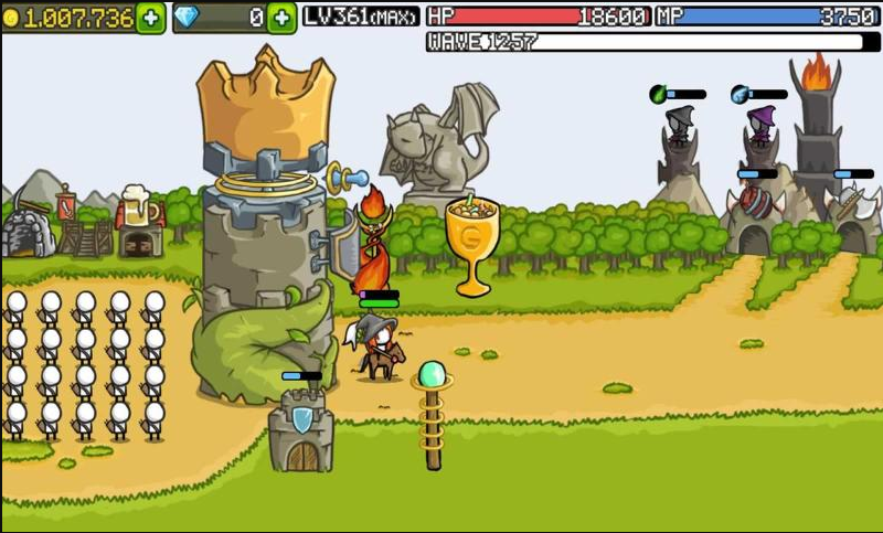 成长城堡无限金币钻石版游戏截图