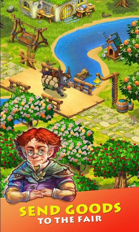 溪谷农场破解版游戏截图