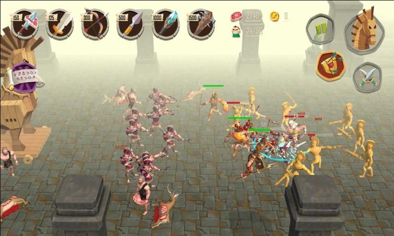 特洛伊战争中文破解版游戏截图
