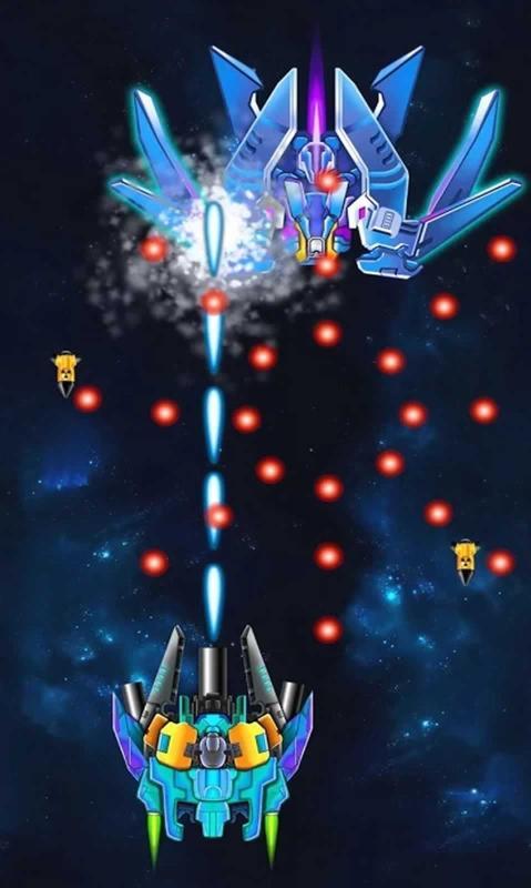 银河之战深空射手2破解版游戏截图