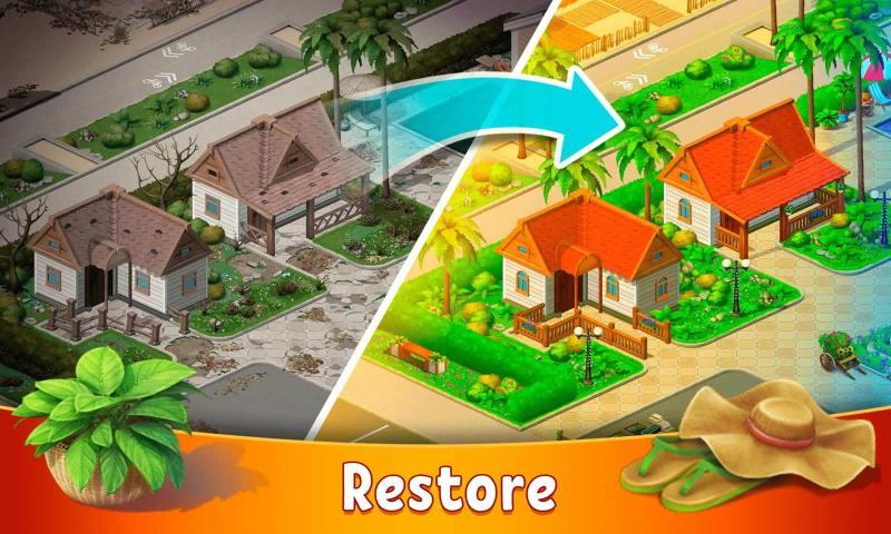 隐藏度假村冒险湾破解版游戏截图