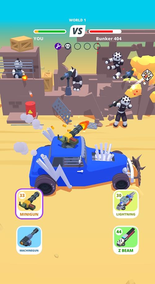 沙漠骑手最新破解版游戏截图
