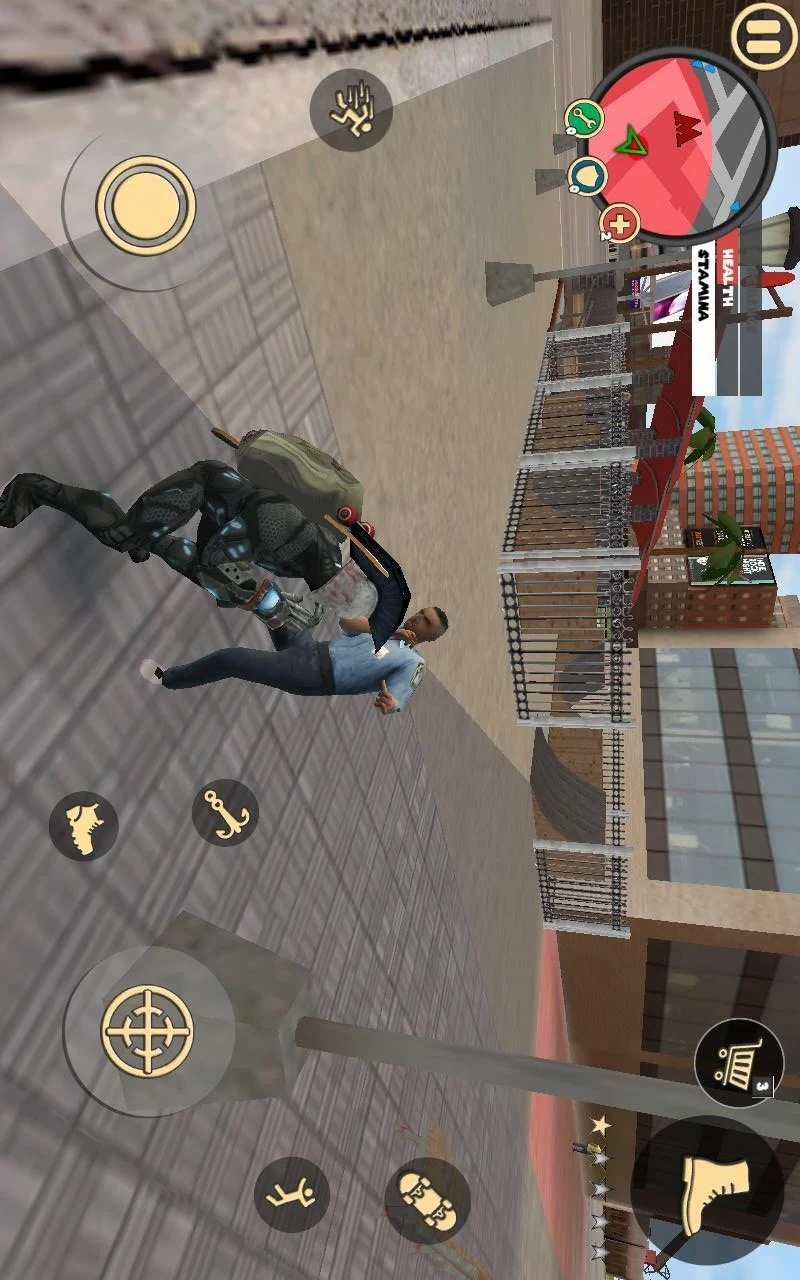绳索英雄罪恶之城最新破解版游戏截图