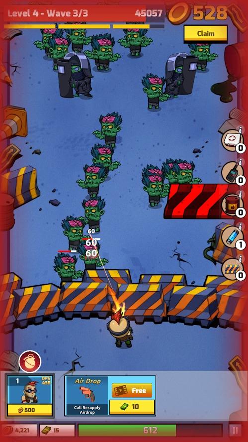 放置僵尸防御破解版游戏截图