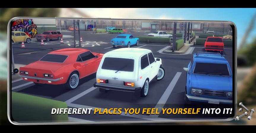 驱动旋转停车区域