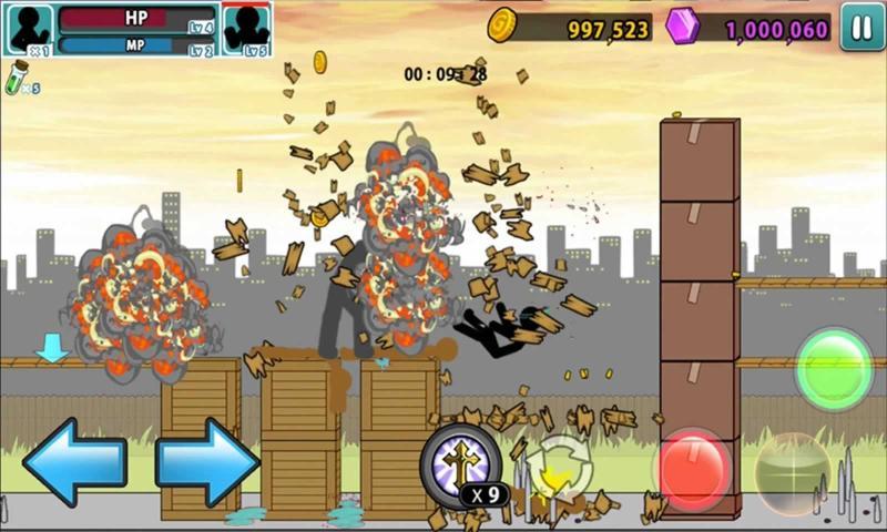 愤怒的火柴人5破解版游戏截图