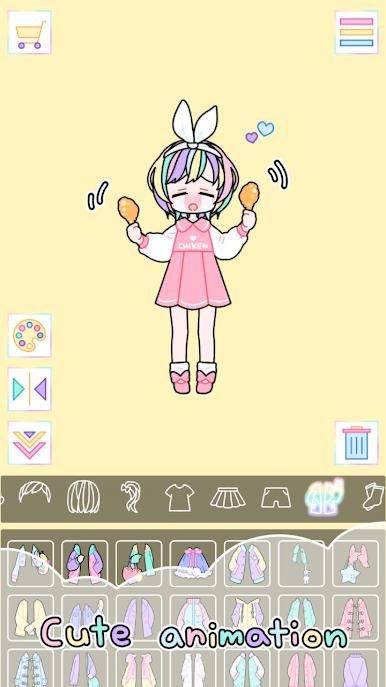 粉彩女孩最旧版破解版游戏截图