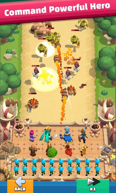 城堡塔防破解版游戏截图