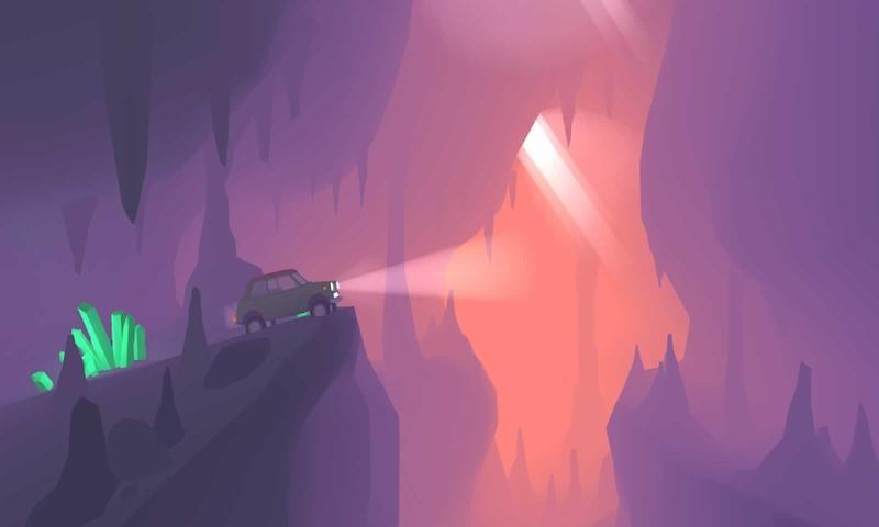 山坡急流破解版游戏截图
