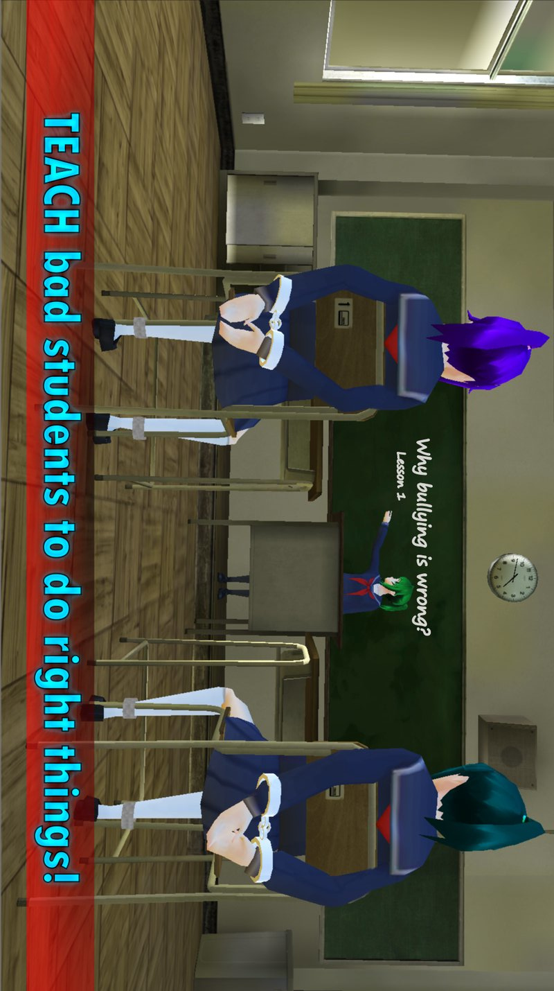 校园女生主管破解版游戏截图