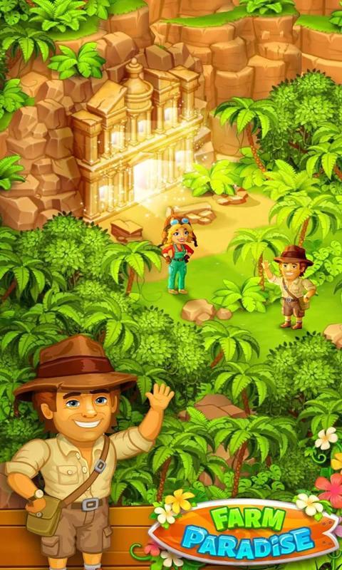 天堂农场幸运岛破解版游戏截图