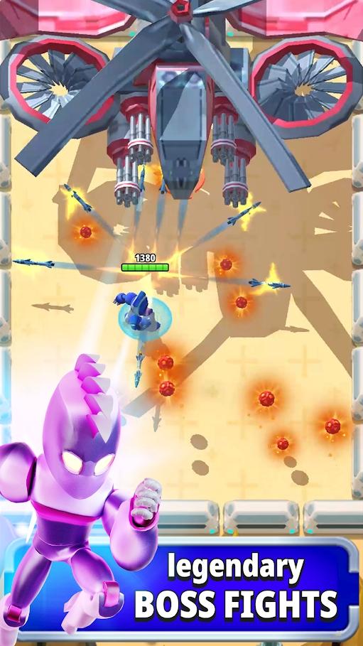 机器人英雄最新破解版游戏截图