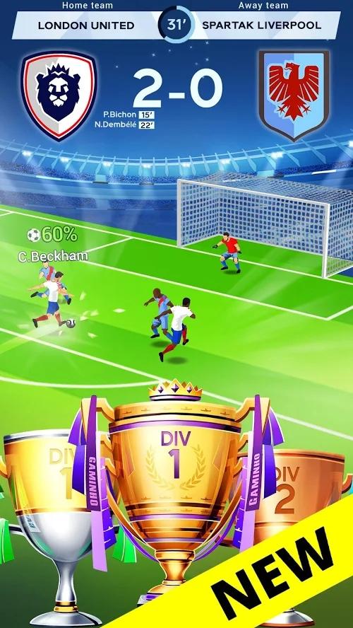 放置足球大亨最新破解版游戏截图