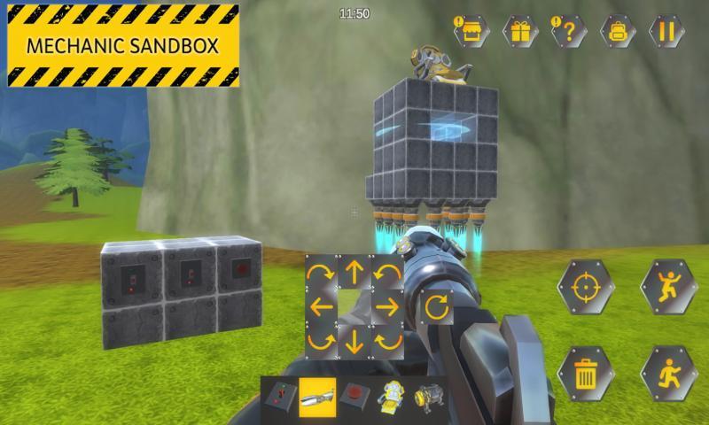 沙盒机械师破解版游戏截图