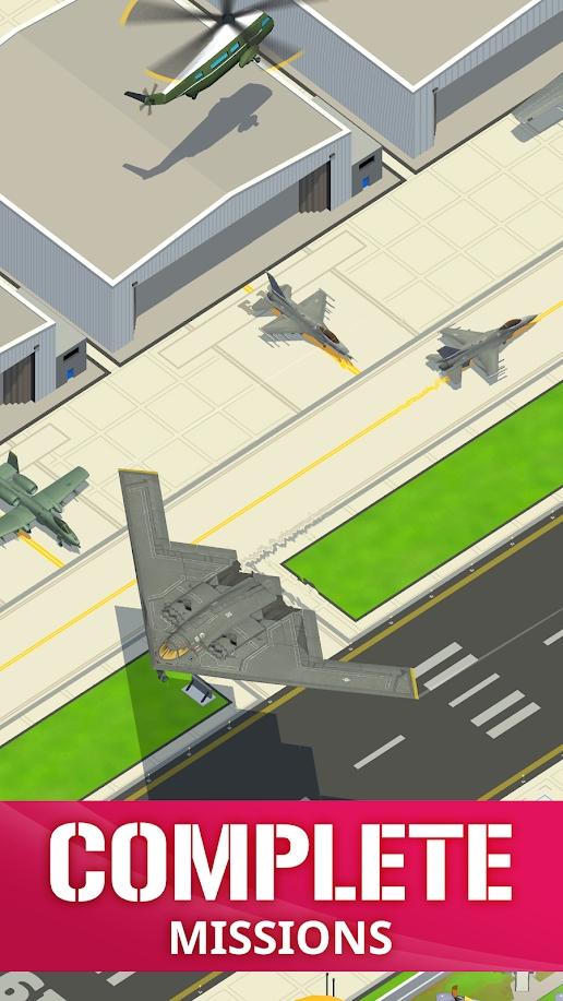 闲置空军基地中文破解版游戏截图