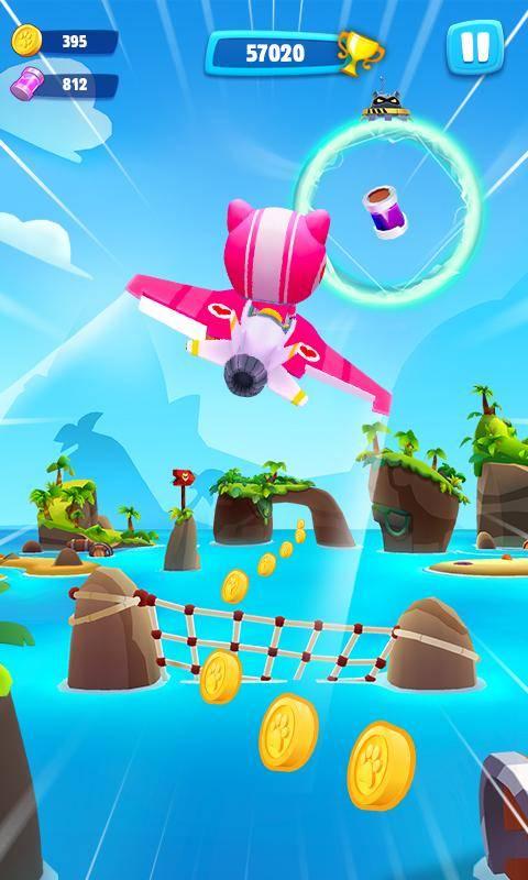 汤姆猫空中小队中文版游戏截图