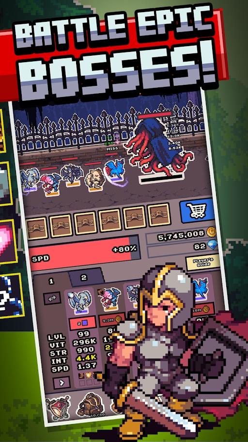 怪物边境最新破解版游戏截图