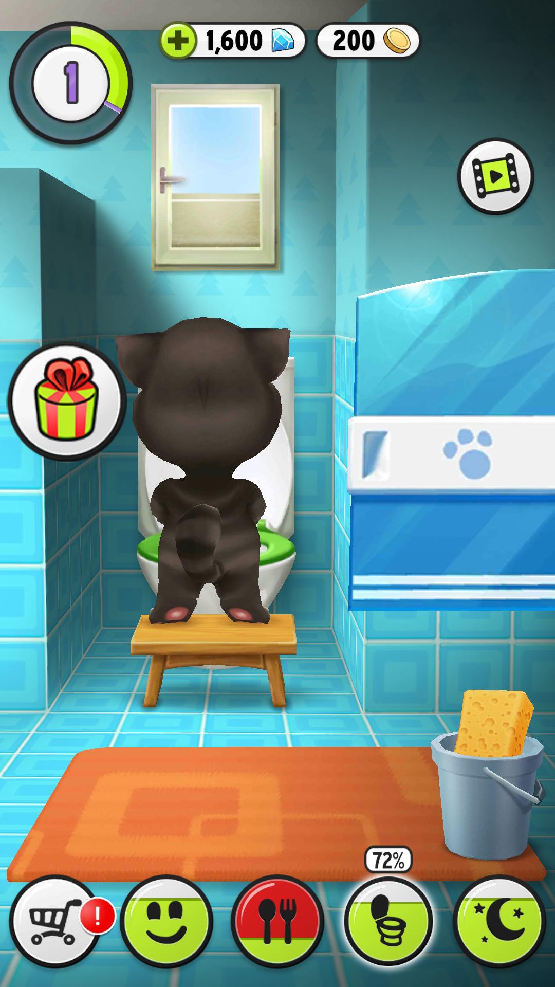我的汤姆猫2020最新无限金币钻石版破解版游戏截图