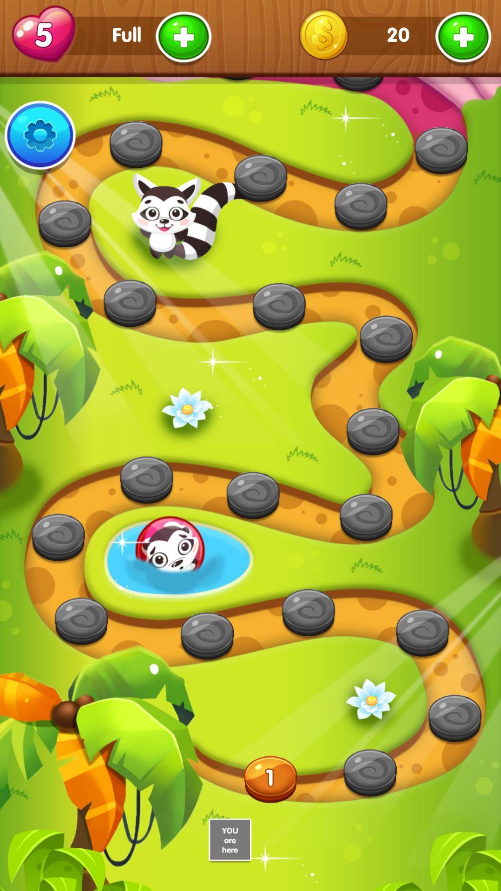 彩色泡泡龙游戏截图