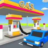 放置加油站公司破解版图标