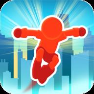 跑酷比赛自由跑游戏图标
