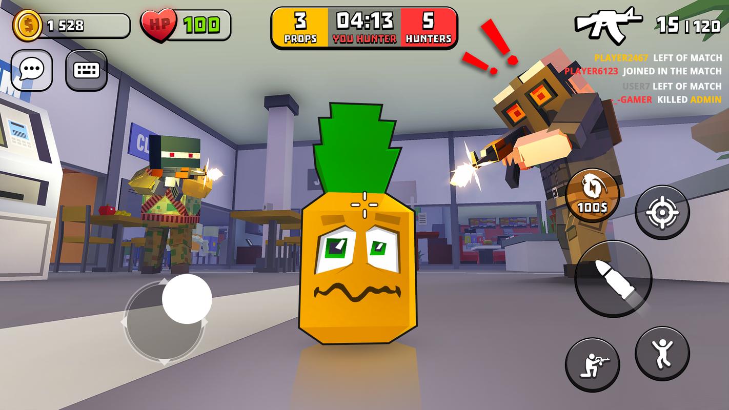 躲猫猫游戏手机版最新无限金币破解版游戏截图