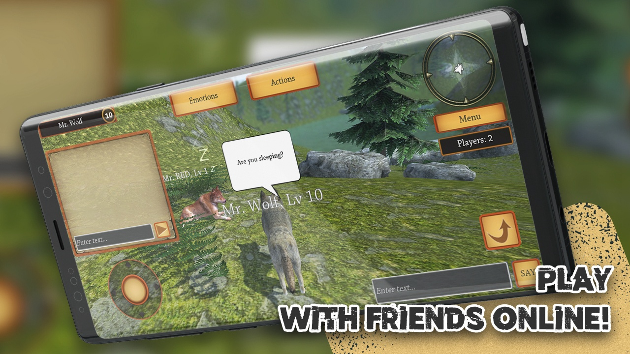 狼族模拟进化破解版最新无限金币版游戏截图