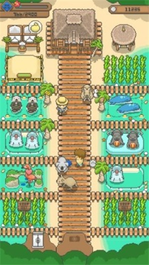 迷你像素牧场最新破解版游戏截图
