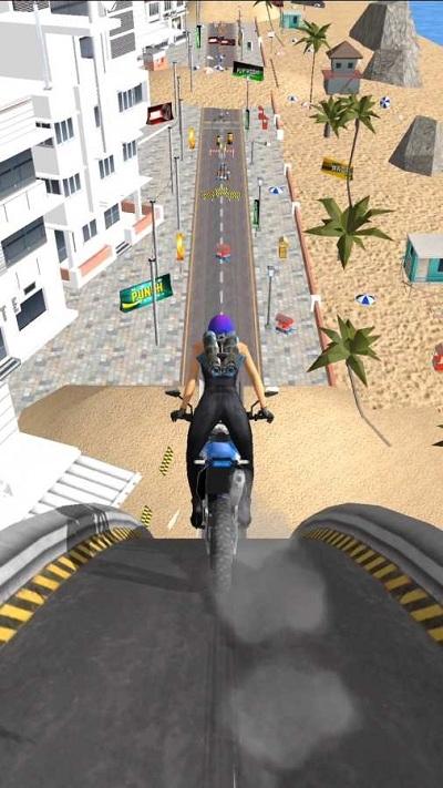 摩托车特技飞跃破解版游戏截图