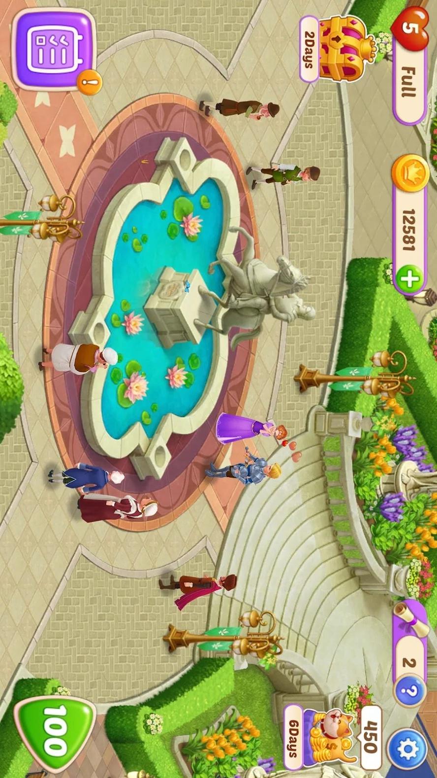 城堡奇缘最新破解版游戏截图