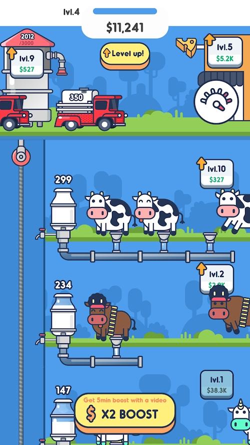 牛奶工厂最新中文破解版游戏截图