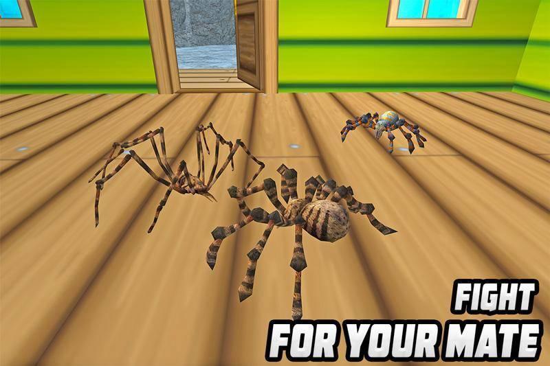 消灭蜘蛛模拟器汉化版游戏截图