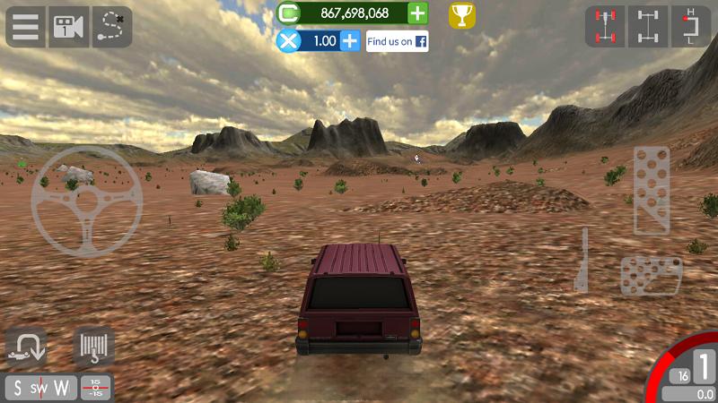 千兆越野解锁车辆版游戏截图