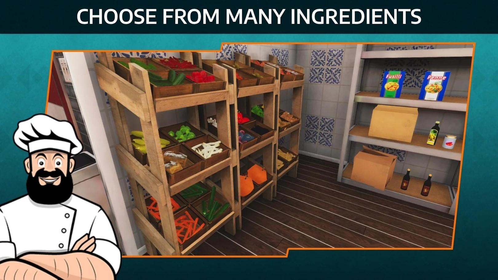 黑暗料理模拟器手机版破解版游戏截图