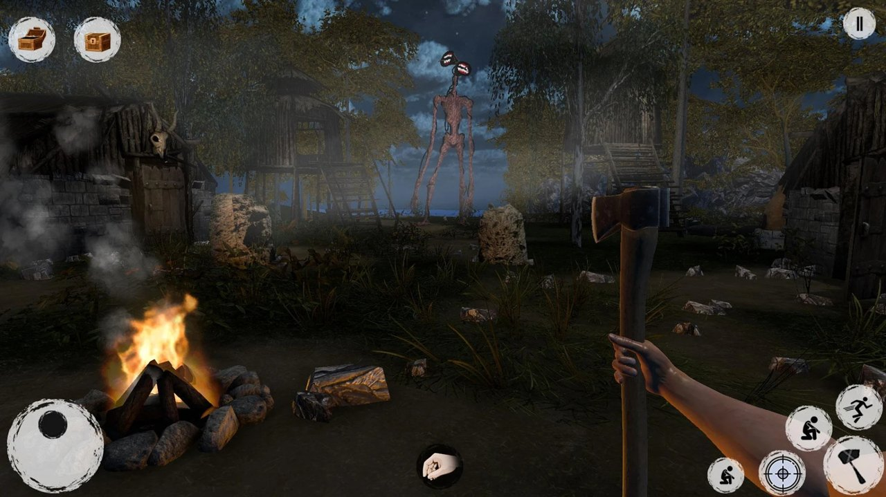 海妖头恐怖游戏破解版游戏截图