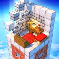 建造高塔3D图标