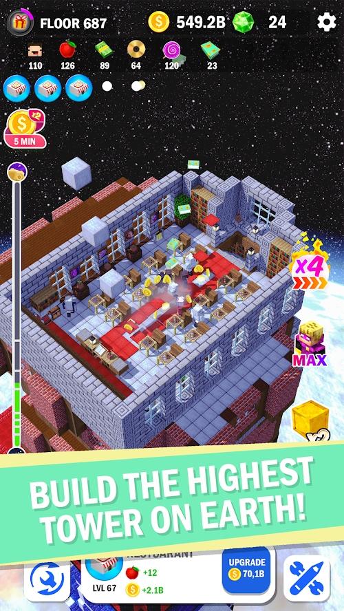 建造高塔3D破解版游戏截图