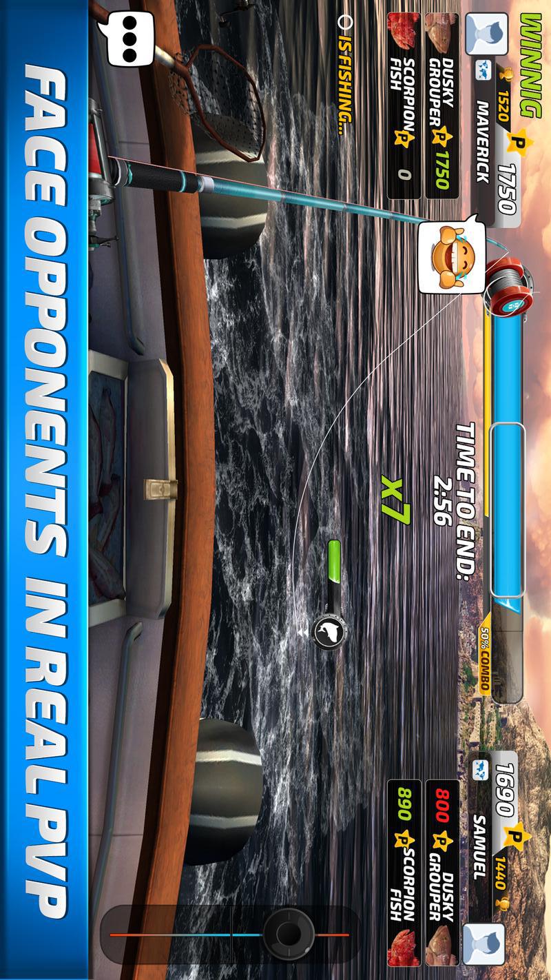 钓鱼冲突破解版游戏截图