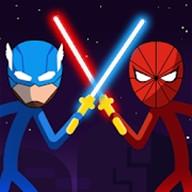 棒面具超级英雄图标