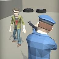特工射击三维警察射击和追逐游戏图标