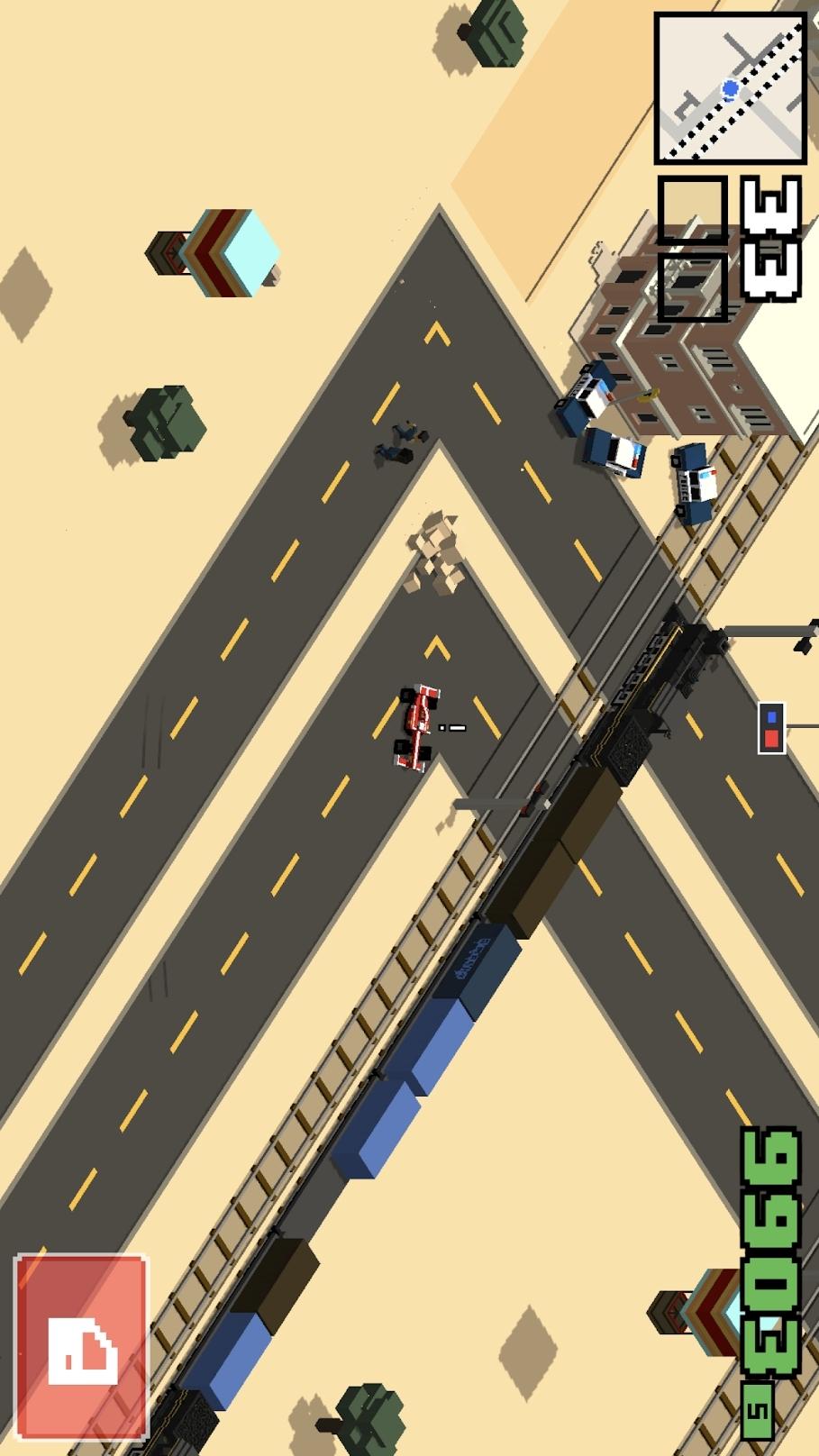 像素公路狂飙2中文破解版游戏截图