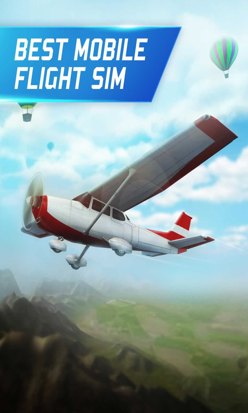 模拟飞行无限金币版游戏截图