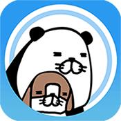 熊猫和狗图标