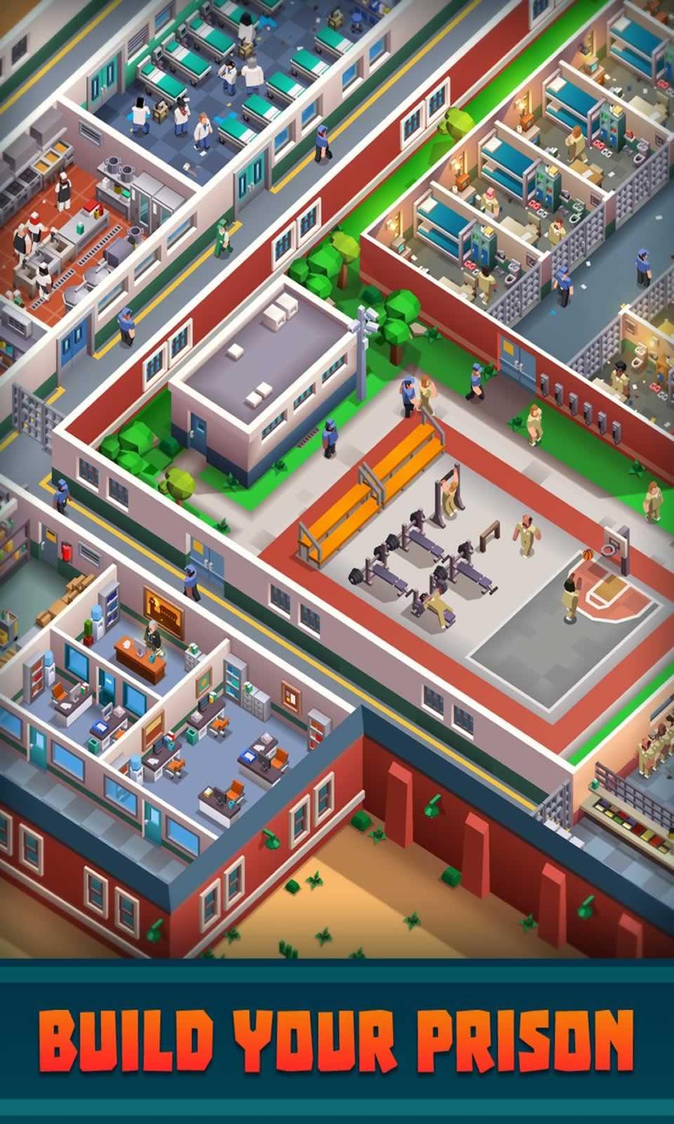 监狱帝国无限金币版游戏截图