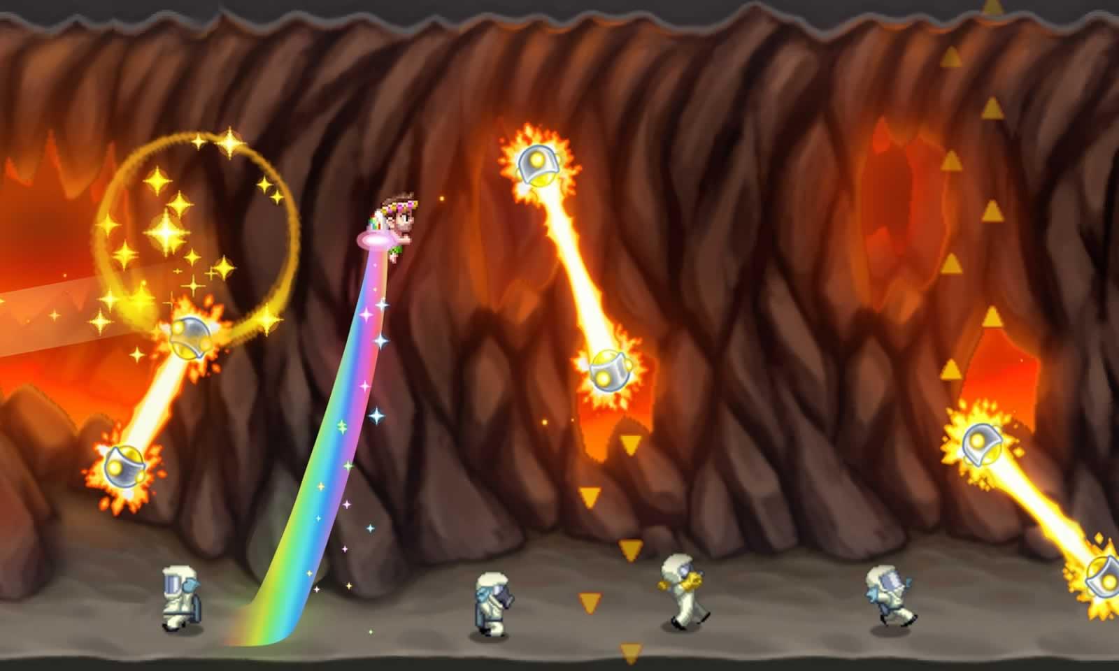 疯狂喷气机手游最新破解版游戏截图