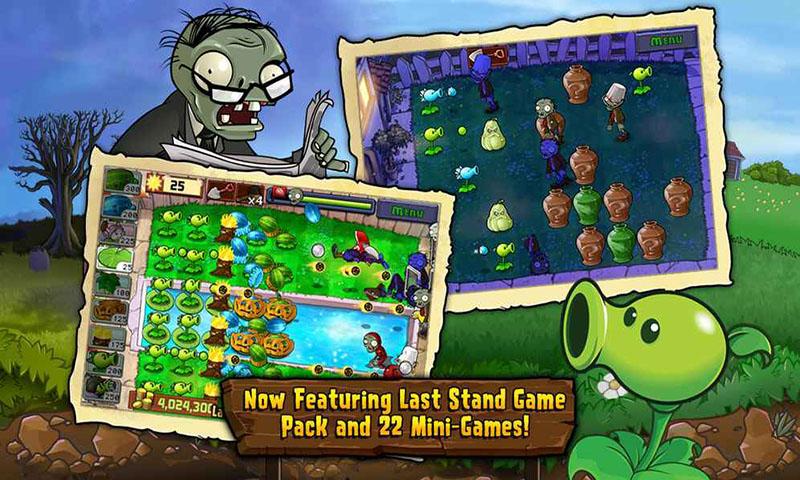 植物大战僵尸复仇模式游戏截图