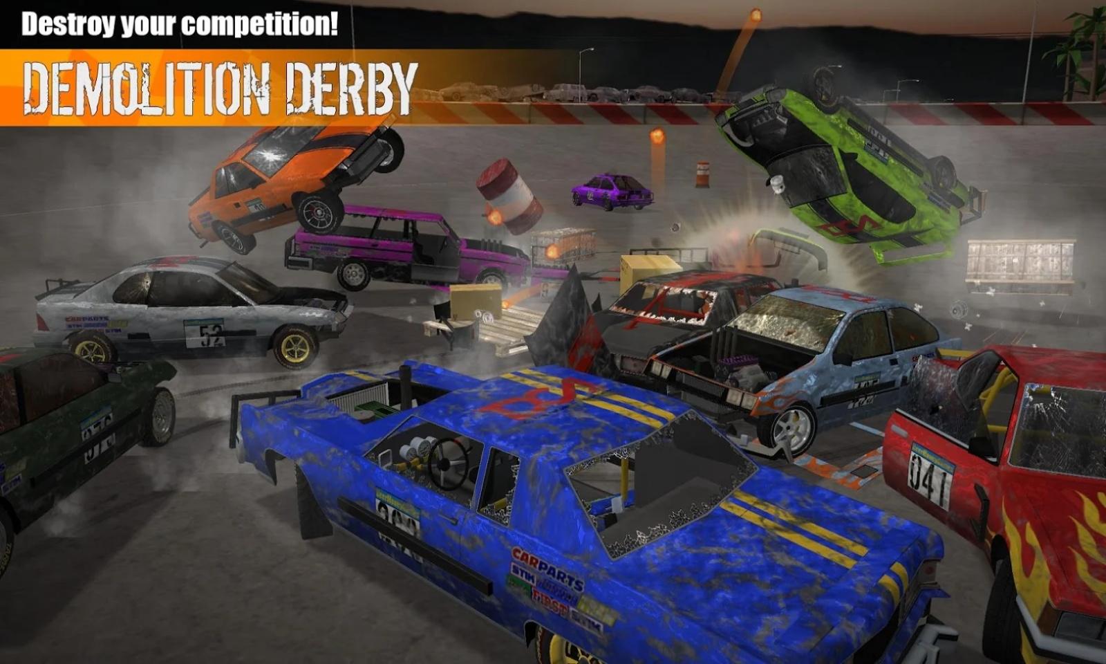 粉碎汽车3无限金币5.6最新版本游戏截图