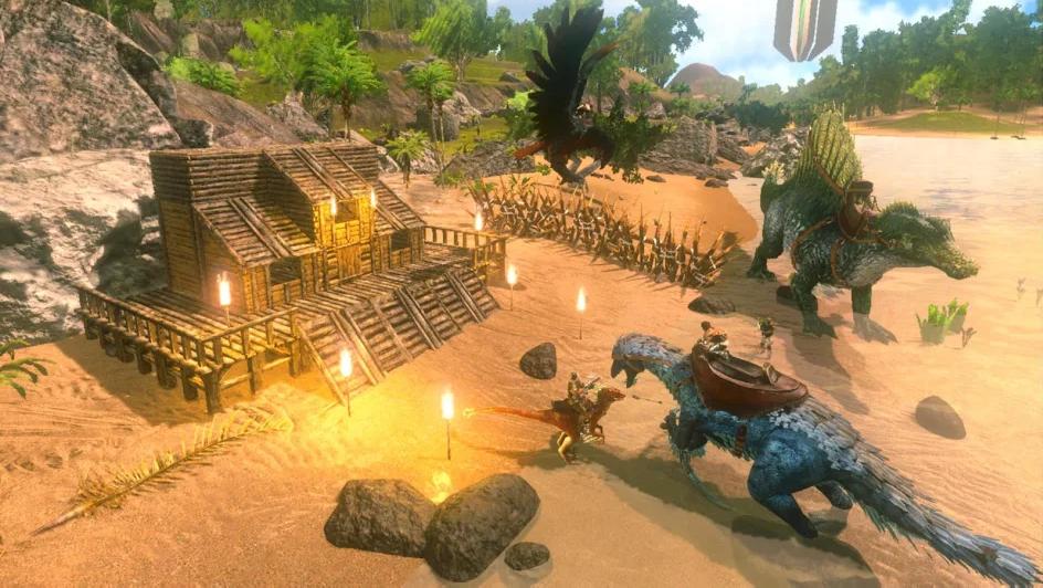 方舟生存进化无限琥珀和无限等级版手机2.0.1.2游戏截图