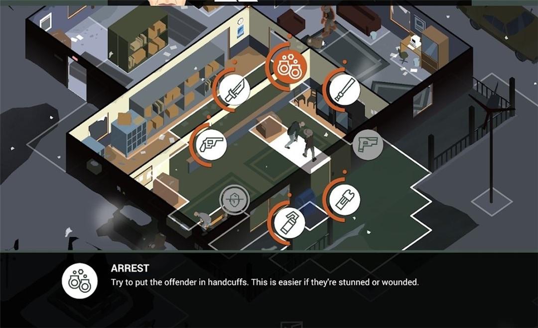 这是警察2汉化版游戏截图